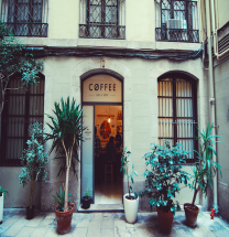 'NOMAD COFFEE' Specialty coffee of barcelona, SPAIN