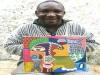 커피의 고향 케냐 화가 -조셉카툰-