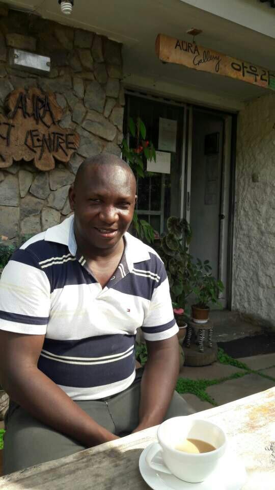 케냐 화가 '조셉카툰'의 여유로운 모…